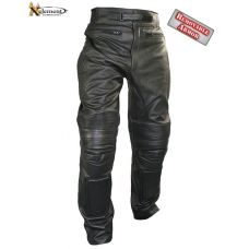 Xelement Men's Armored Cowhide Leather Racing P...